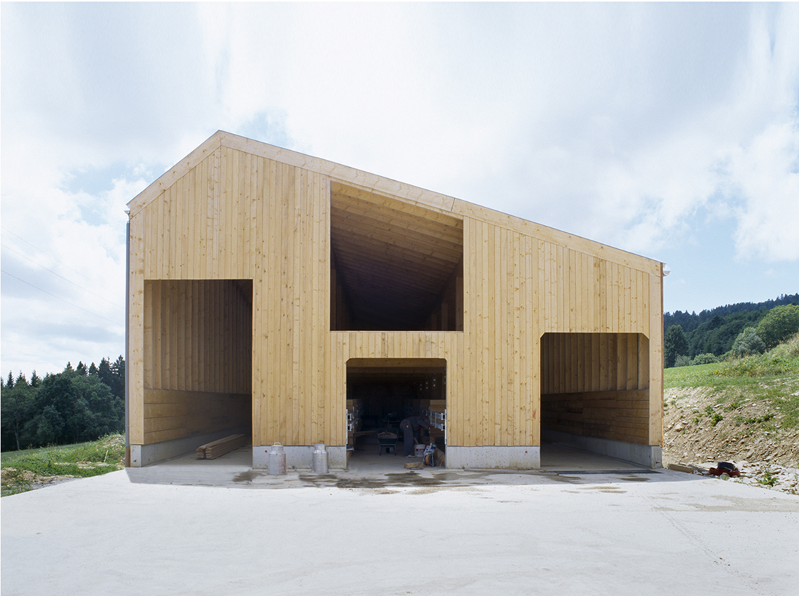 Cow shed projects localarchitecture for Local architects