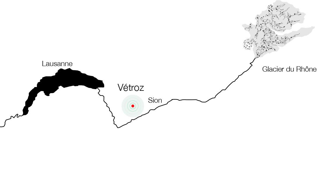 VETROZ_Chemin du Rhône